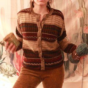 Patterned Dress Barn Cardigan